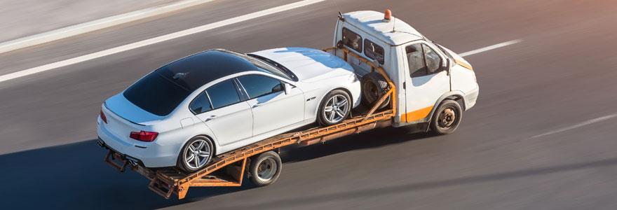 Transport de voiture en panne