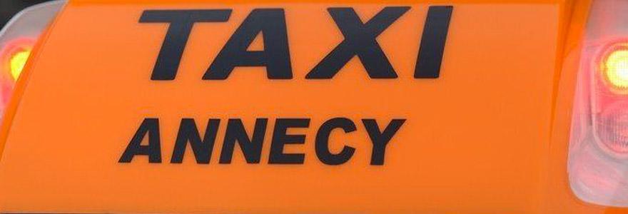 taxi au départ d'Annecy